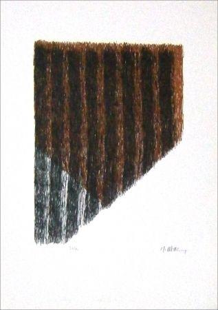 Lithograph Ubac - Bout du champ