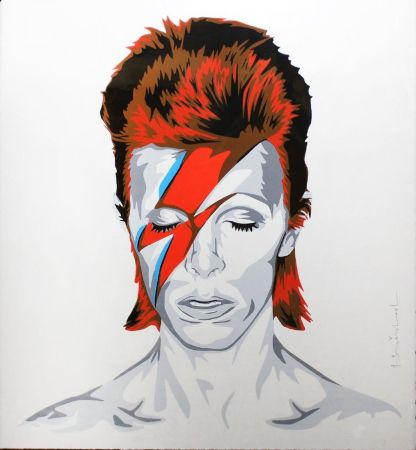 Screenprint Mr. Brainwash - Bowie