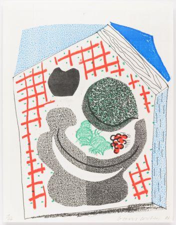 No Technical Hockney - Bowl of Fruit
