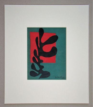 Lithograph Matisse (After) - Boxeur nègre, 1947