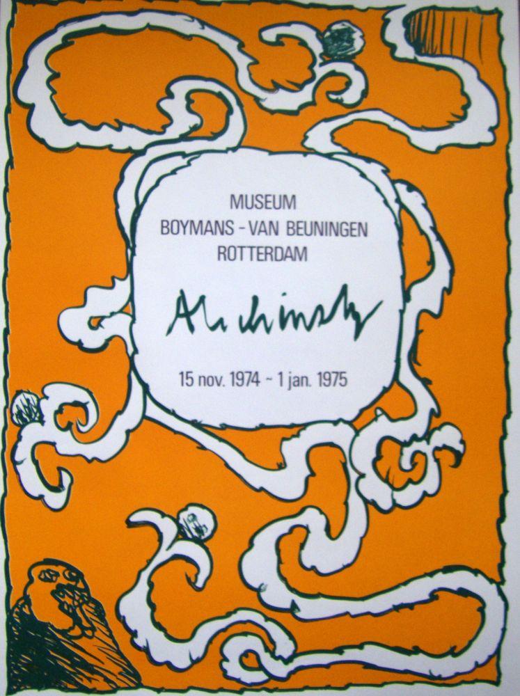 Poster Alechinsky - Boymans