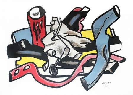 Lithograph Leger - Branches