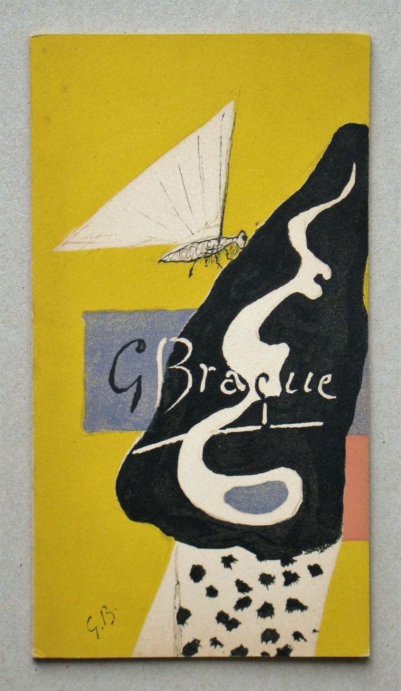 Illustrated Book Braque - Braque Graveur