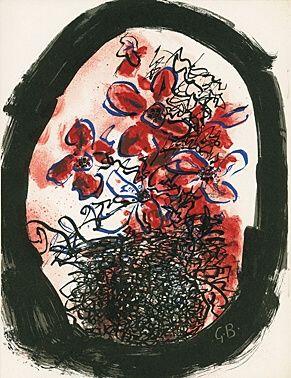 Illustrated Book Braque - Braque Lithographe