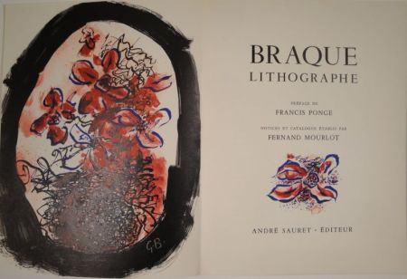 Illustrated Book Braque - Braque Lithographe
