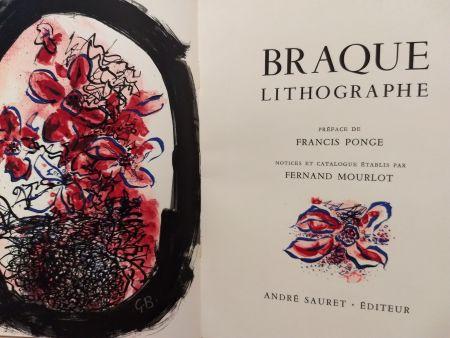 Illustrated Book Braque - Braque Lithographie