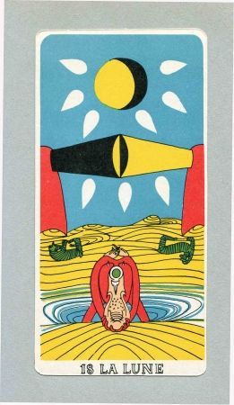 Illustrated Book Matta - BRETON (André). Arcane 17.
