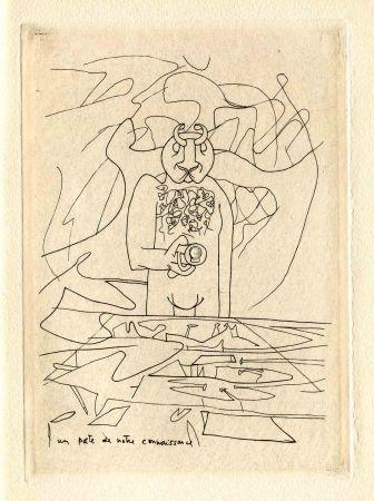 Drypoint Matta - BRETON (André). Les Manifestes du Surréalisme - suivis de Prolégomènes à un troisième Manifeste du Surréalisme ou non.