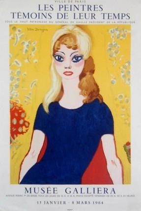 Poster Van Dongen - Brigitte bardot