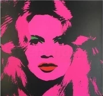 Screenprint Warhol (After) - BRIGITTE BARDOT