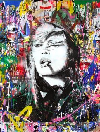 Screenprint Mr Brainwash - Brigitte Bardot, 2018