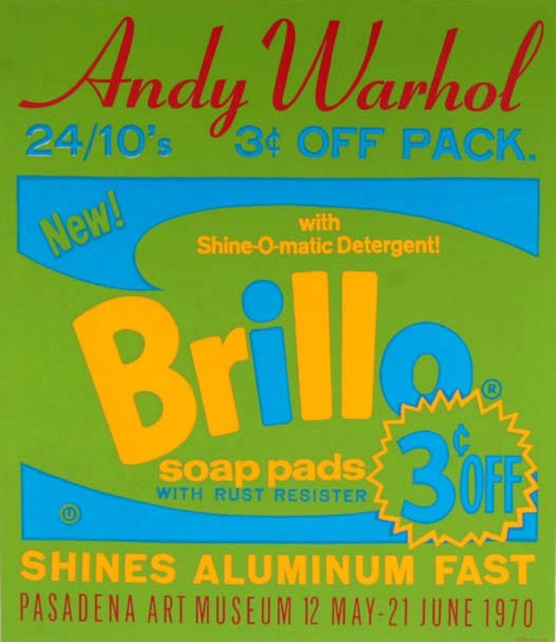 Screenprint Warhol - Brillo Soap Pads