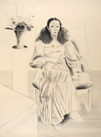 Lithograph Hockney - Brook Hopper