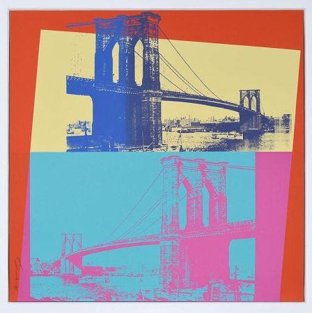 Screenprint Warhol - Brooklyn Bridge, FS 11.290