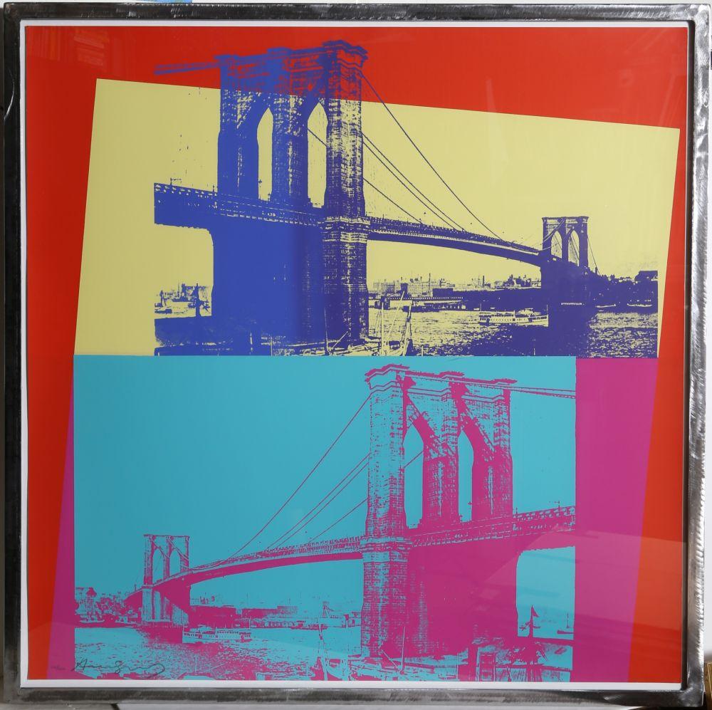Screenprint Warhol - Brooklyn Bridge (FS II.290)