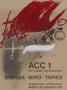 Poster Tàpies - Brossa-Miró Tàpies