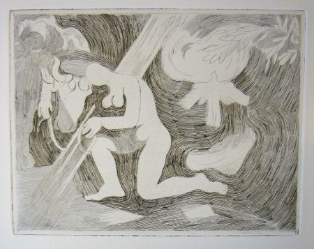Drypoint Beaudin - Bucoliques 2