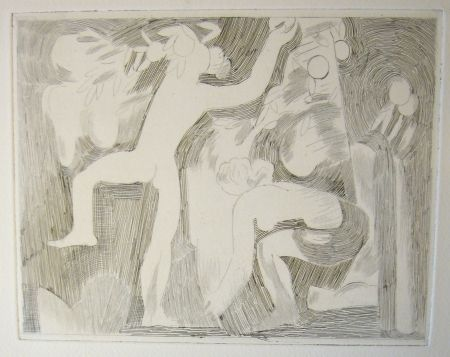 Drypoint Beaudin - Bucoliques 5