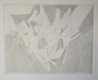 Drypoint Beaudin - Bucoliques 9