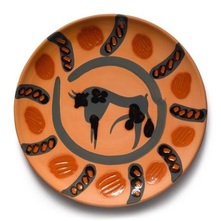 Ceramic Picasso - Bull 1957, January 22nd