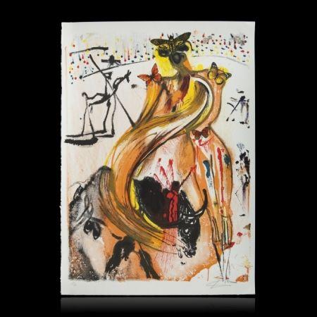 Lithograph Dali - BULLFIGHTER
