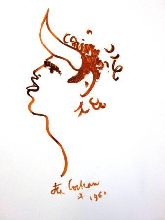 Lithograph Cocteau - Bullman