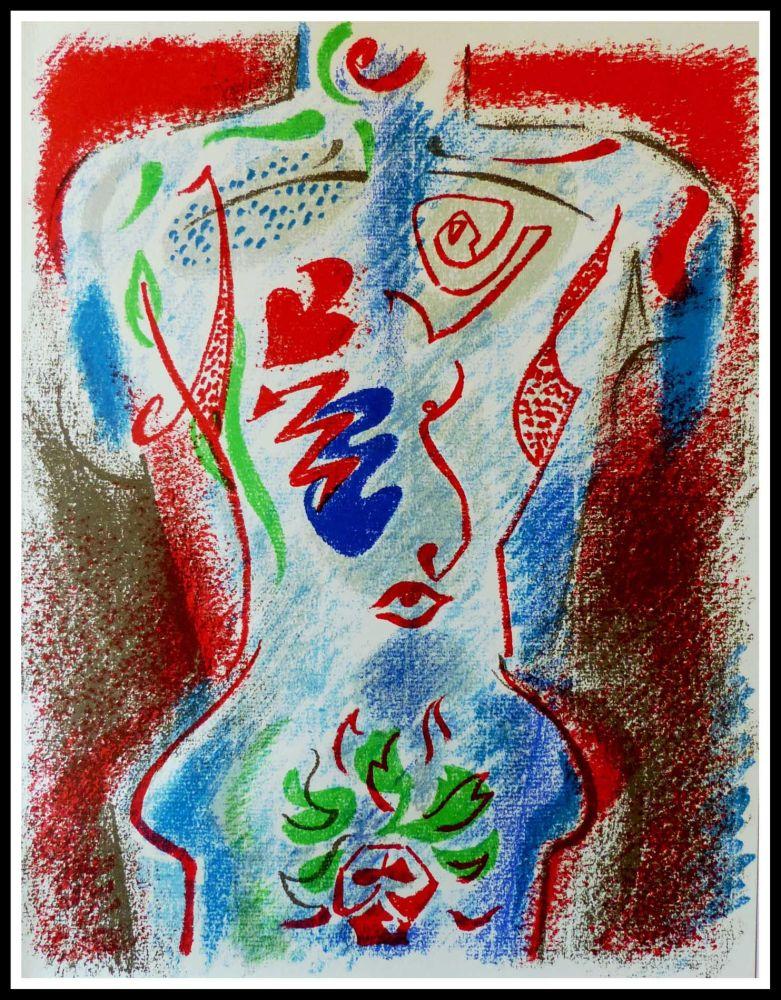Lithograph Masson - BUSTE