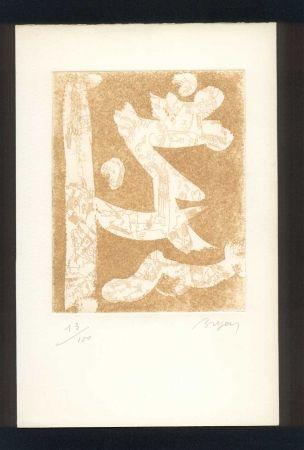 Illustrated Book Bryen - BUTOR (Michel). Bryen en temps conjugués.