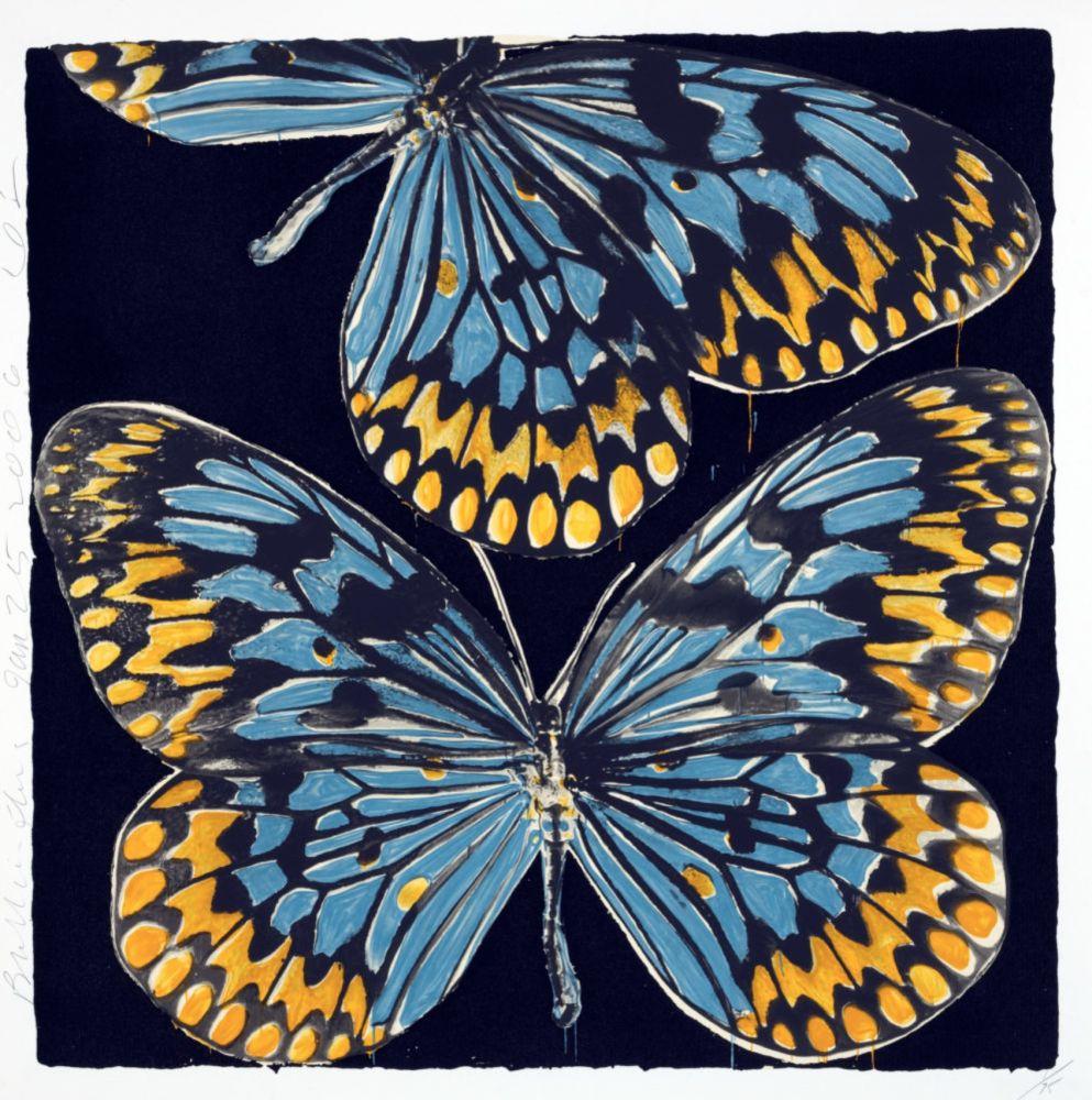 Screenprint Sultan - Butterflies