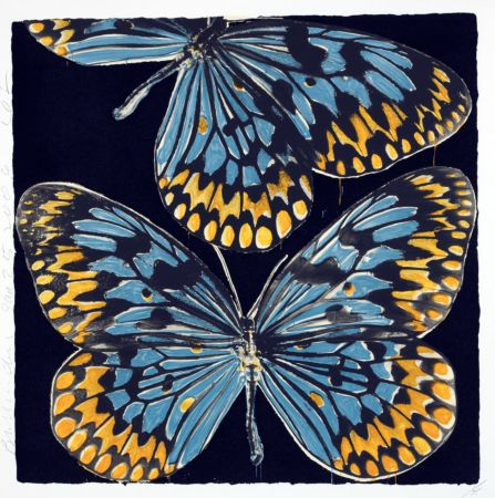 Screenprint Sultan - Butterflies