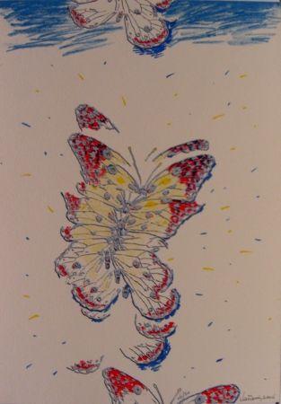 Screenprint Vanarsky - Butterfly