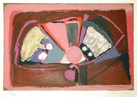 Lithograph Van Velde - BvV 003  sans titre (1939)
