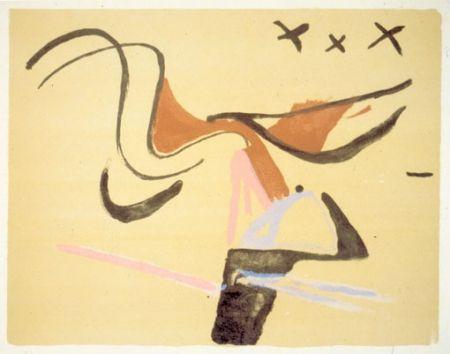 Lithograph Van Velde - BvV 145  sans titre  (1974)