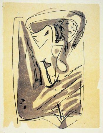 Lithograph Van Velde - BvV 185 sans titre  (1975)