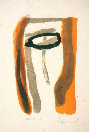 Lithograph Van Velde - BvV 231 sans titre (1976)