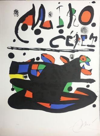 Lithograph Miró - CÉRET. Lithographie originale signée ( 1977).