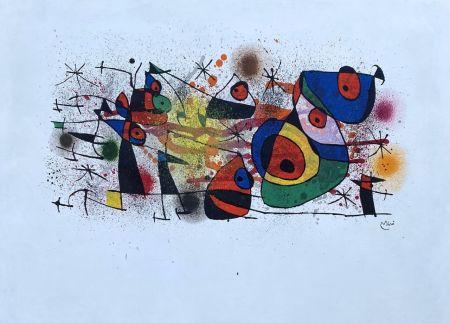 Lithograph Miró - Céramique
