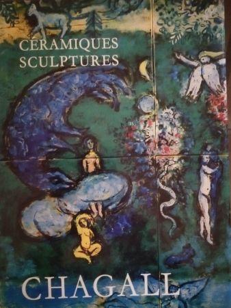Illustrated Book Chagall - Céramiques Sculptures