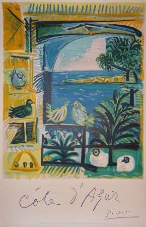 Lithograph Picasso - Côte d'Azur
