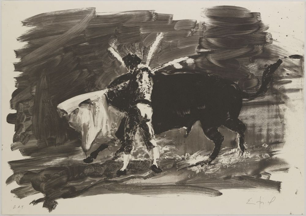 Lithograph Fischl - CAC