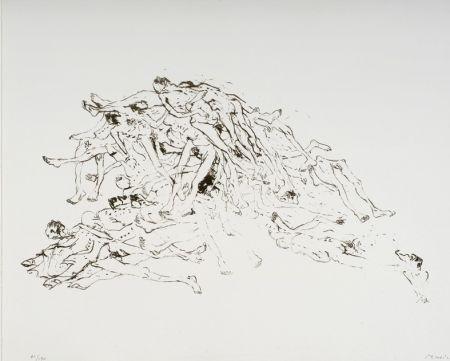 Lithograph Music - Cadastre de Cadavres