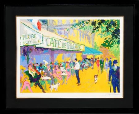 Screenprint Neiman - Cafe de Flore I