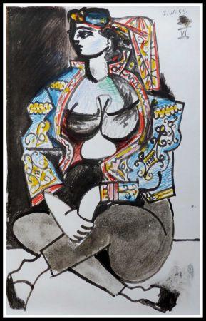 Lithograph Picasso (After) - CAHIER DE LA CALIFORNIE IX