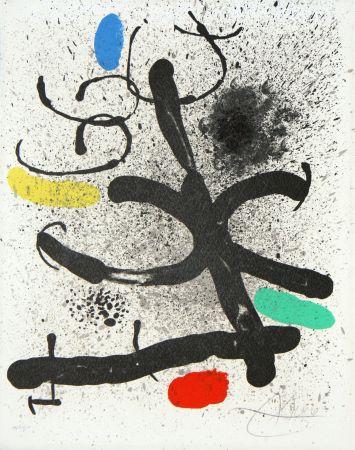 Lithograph Miró - Cahier d'ombres (M. 744)