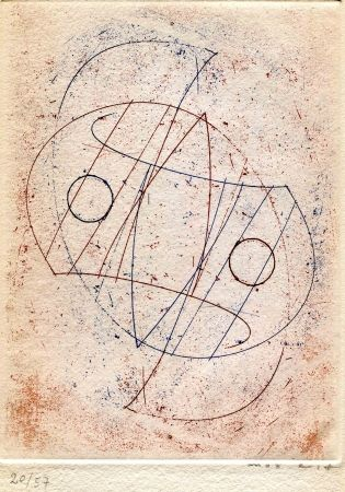 Engraving Ernst - CAILLOIS (Roger). Obliques.