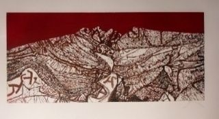 Etching And Aquatint Prassinos - Calan
