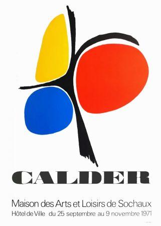 Poster Calder - CALDER 71 : Exposition Maison des Arts de Sochaux.