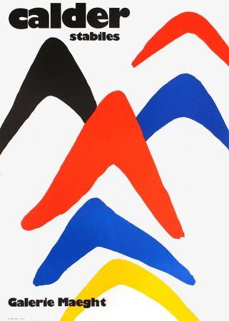 Poster Calder - CALDER 71 : Exposition