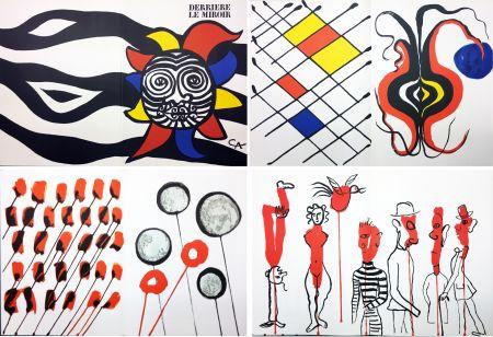 Illustrated Book Calder - CALDER OISELEUR DU FER. DERRIÈRE LE MIROIR N° 156 (1966).