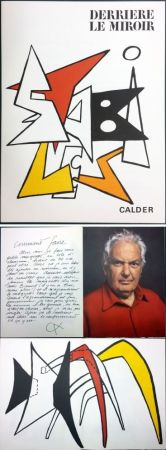 Illustrated Book Calder - CALDER. STABILES. Derrière le Miroir n° 141. 8 LITHOGRAPHIES ORIGINALES (1963)